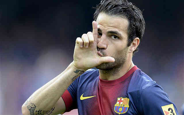 There has been new offer for Cesc Fabergas from Manchester United