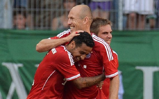 Thiago Alcantara Amazing First Goal For FC Bayern Munich - Borussia M'gladbach 1-5 Bayern Munchen