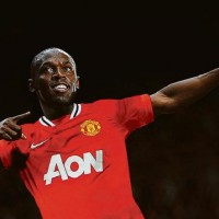Usain Bolt will play with Manchester United