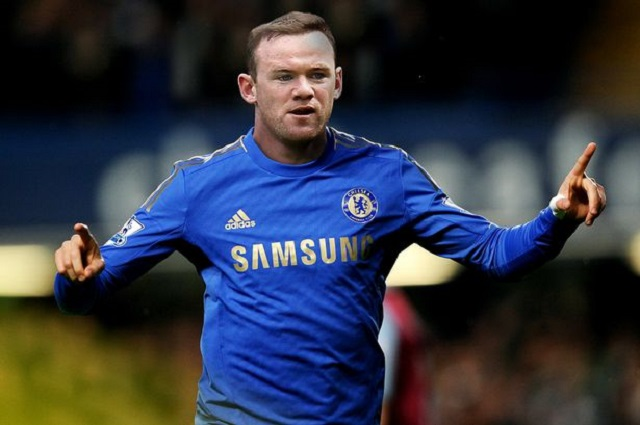 Wayne Rooney in a Chelsea Shirt, would you like to see this...Jose Mourinho said he likes Rooney as a player.