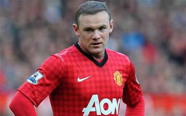 Wayne Rooney is looking for the exist from Manchester United