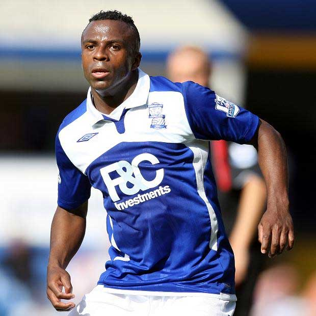 Christian Benitez starred for Birmingham FC