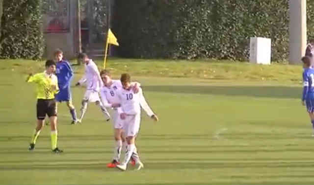 Hachim Mastour proves to people his skills on the pitch when playing for Italy u16