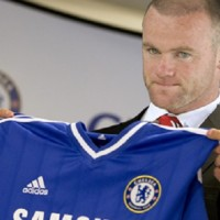 I see Wayne Rooney going to Chelsea and lifting the trophy for the Blues this year.