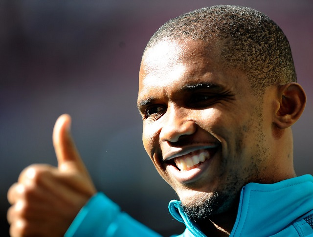 Is Eto'o still the most paid footballer in the world?