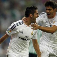 Isco brings the winning goal for Real Madrid