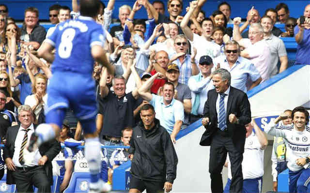 Jose Mourinho celebrate with his old team once again