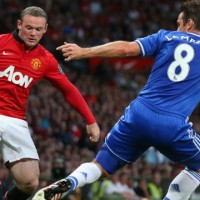Manchester United could not beat Chelsea on their homeground in spite of a stunning performance by Wayne Rooney.