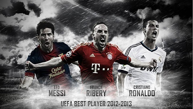 Messi, Ronaldo or Ribery- who will be the best UEFA player 2012-2013