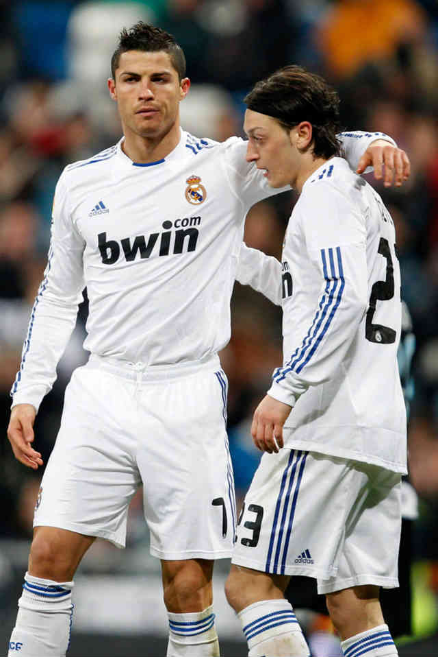 Mesut Ozil values the friendship and impact that Ronaldo brings to Real Madrid