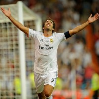 Raul played for Real Madrid yesterday…and scored!