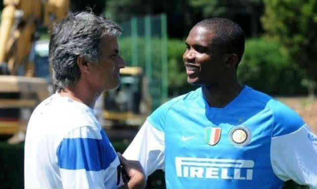 Samuel Eto'o is to reunited again with Jose Mourinho