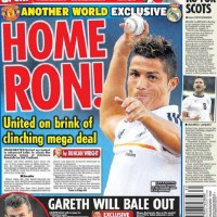 The Daily Star claims. In a 'world exclusive' that Man United and Real are locked in advanced talks and have spent the past 12 days negotiating an £80m package.