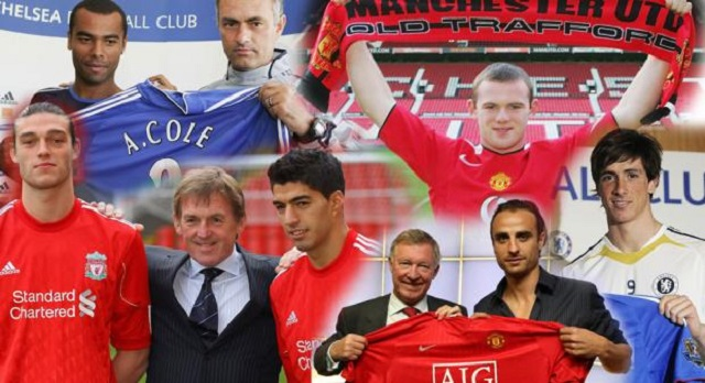Top 10 Premier League Transfers Ever, Torres, Rooney, Carroll and co