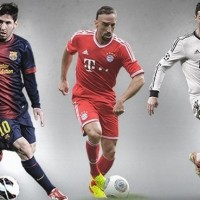 Top 15 Football Players of 2012-2013 Season-Messi, Ronaldo and Ribery in the top 3