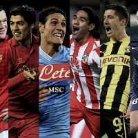 Who are the top 10 strikers in the world of football