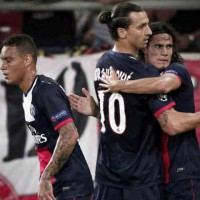 Olympiacos 1 : 4 Paris St. Germain Champions League play-off