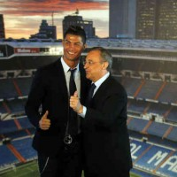 Florentino Perez ignites for CR7 and his attack