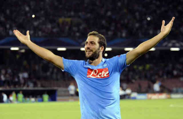 Higuain brings hope and success for his new team in the Champions League