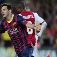 Barcelona 4 : 0 Ajax Champions League play-off
