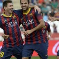 Almeria 0 : 2 Barcelona Highlights