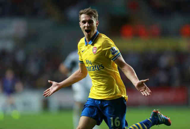 Ramsey steps up the game with Arsenal