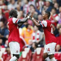 Arsenal 3 : 1 Stoke City Highlights