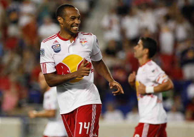 Thierry Henry once again shows up with new moves