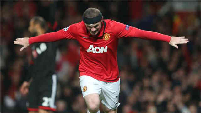 Wayne rooney led the team in success and is back in action!