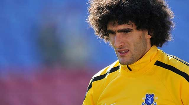 Fellaini known for his hair just as much as his goal scoring
