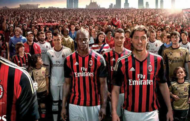 Addidas continues with AC Milan until 2023