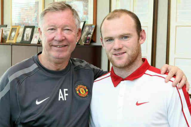 Alex Ferguson continues to push Wayne rooney to sign the new contract
