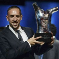 Platini discusses the chances of Ribery winning the Ballon d'Or