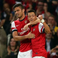 Giroud talks about his friendship with Ozil