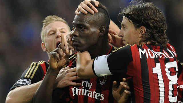 Mario Balotelli saves the day once again for Milan