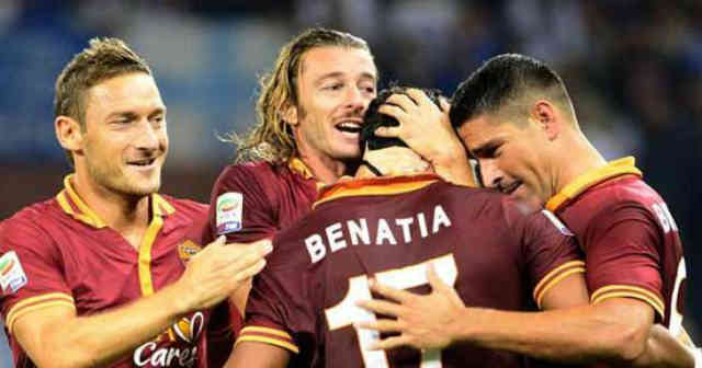 Mehdi Benatia has huge respect for the Italian legend, Totti