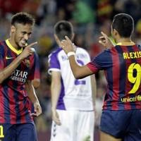 Barcelona 4 : 1 Valladolid Highlights