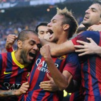 Neymar gets his goal in the El Clasico and brings victory for FC Barcelona