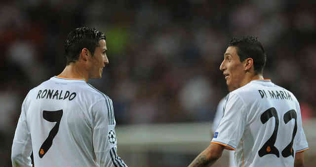 Ronaldo and Di Maria managed to both score twice