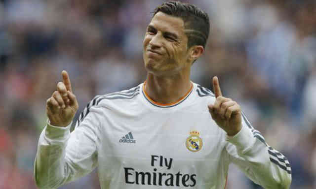 Ronaldo scoring once against with Madrid