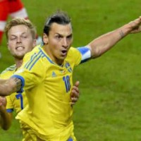 Zlatan gives Sweden a late win