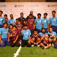 Barcelona extended agreement with UNICEF