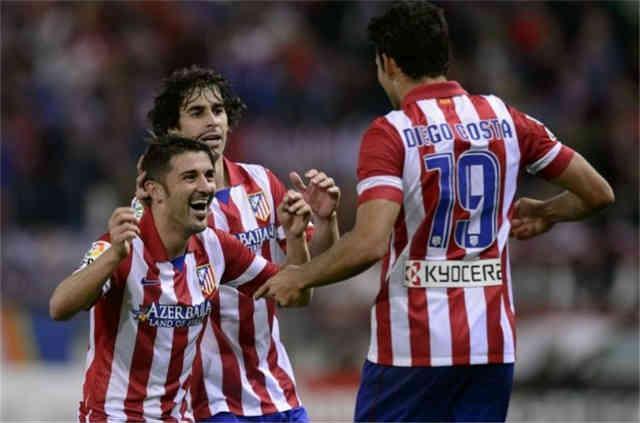 Both David Villa and Deigo Costa score and bring victory for Atletico