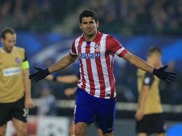 Diego Costa once again brings in the goals