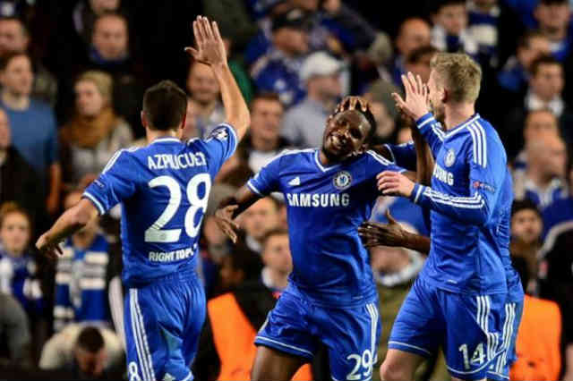 Eto'o brings in the goals for the Blues