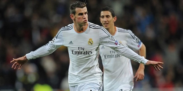 Gareth Bale continues to score for his club Real Madrid