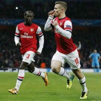 Arsenal 2 : 0 Marseille Champions League Highlights