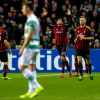 Kaka opens up the game up for AC Milan as they beat Celtic in the Champions League