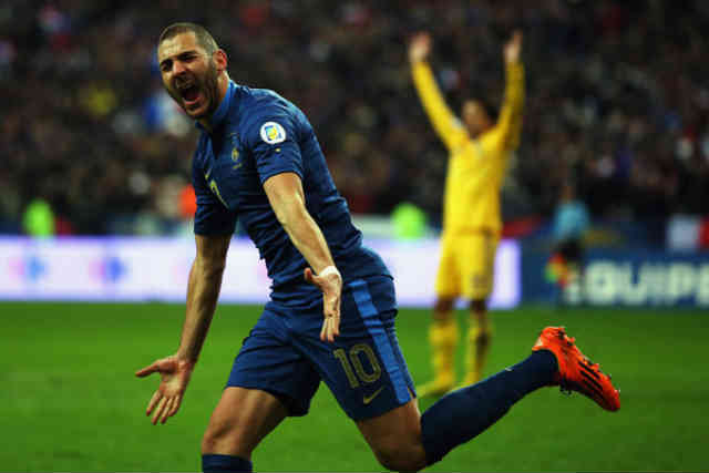 Karim Benzema came to the rescue for France against Ukraine
