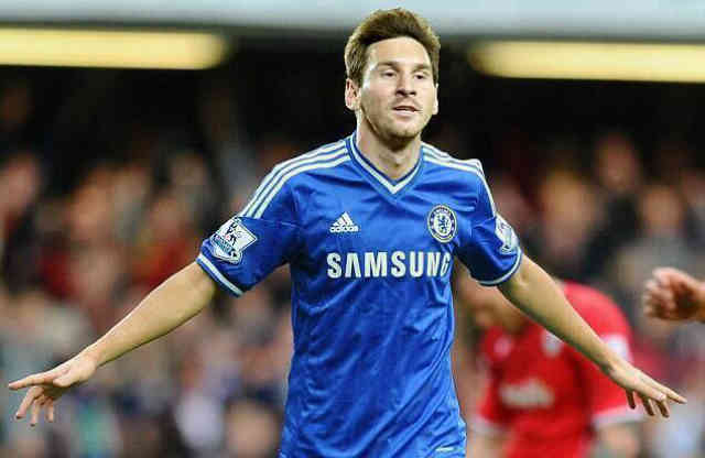 Lionel Messi was going to join Chelsea as Addidas offered him some money